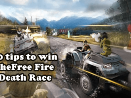 10 tips to win the Free Fire Death Race Tips