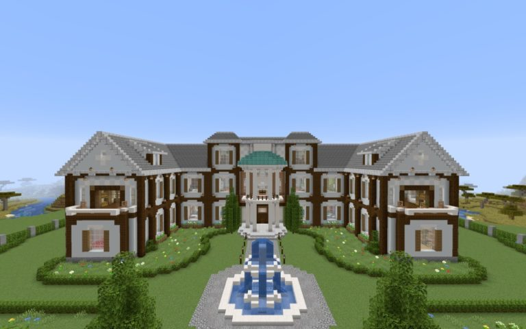 12 seeds of Mansion for Minecraft!