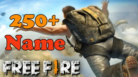 +250 Free Fire Game Name: male, female and with symbols