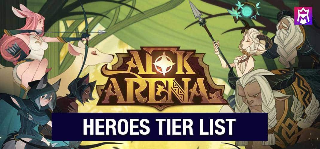 AFK Arena tier list the best heroes in each class