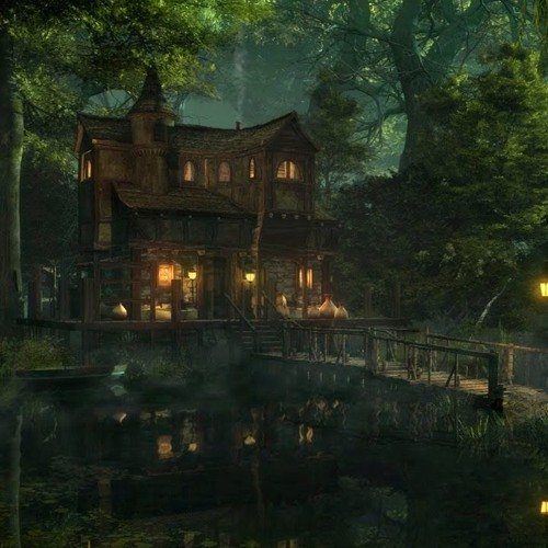 Mansion in the Swamp