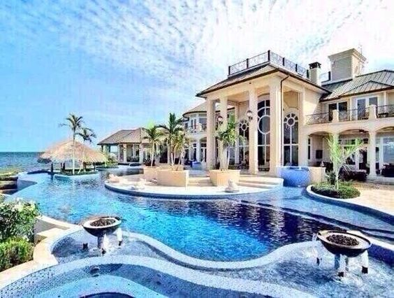 Mansion on the ocean
