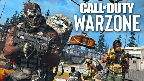 CoD Warzone weapons
