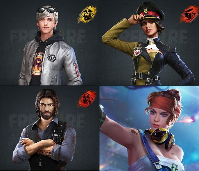 best character combinations in Free Fire