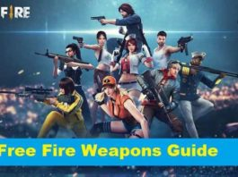 10 Most Damaged Weapons in Free Fire